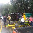 Veículo é de Guarapuava, Paraná, e transportava 44 passageiros, além de dois motoristas. Conforme PRF, não há registros de feridos […]