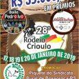 Nos dias 17,18,19 e 20 o Sindicato Rural de Bossoroca promoveu o 28° Rodeio Crioulo no parque do Sindicato Rural, […]